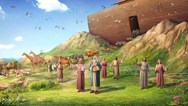 God-s-blessing-to-noah-after-flood