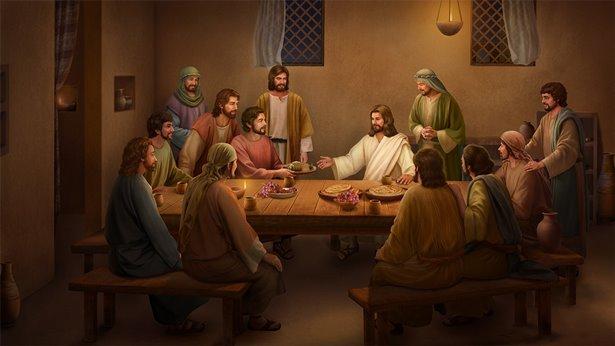 Jezus je chleb i objaśnia Pisma po swoim zmartwychwstaniu