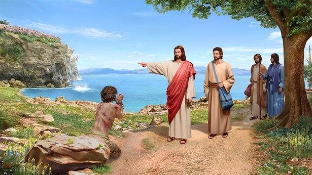 Jezus gromi faryzeuszy
