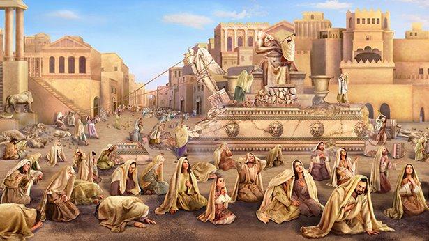 W głębi serc mieszkańców Niniwy Bóg widzi szczery żal za grzechy