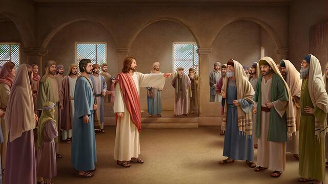 Pan Jezus przeklął faryzeuszy