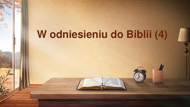 W odniesieniu do Biblii (4)