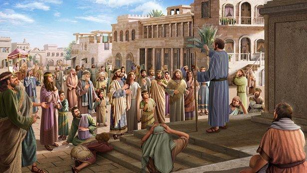 Ostrzeżenie Jahwe dociera do mieszkańców Niniwy