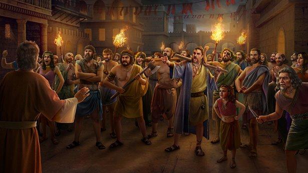 Sodoma została przeznaczona na zgubę za zgorszenie wywołujące Boży gniew